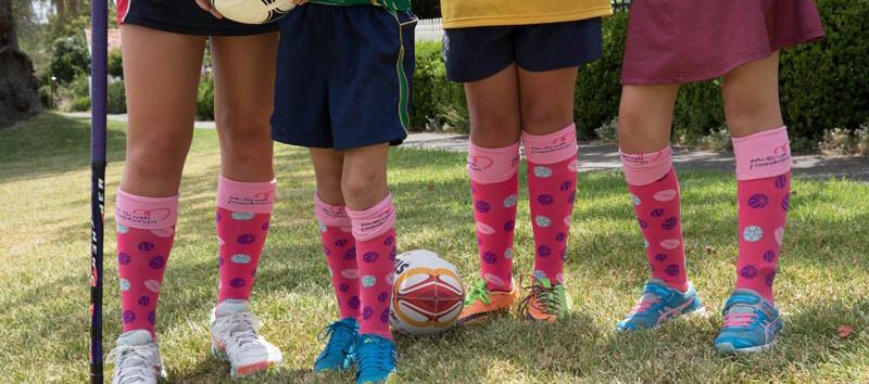 c62bdec82 School Fundraising - Pull On Your Socks for the McGrath Foundation